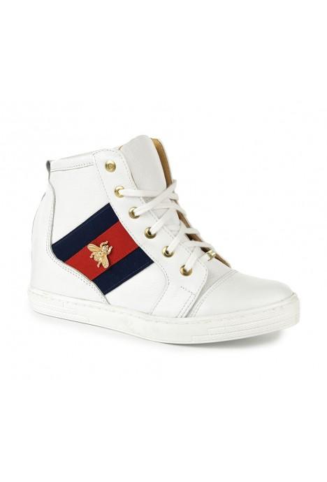 Białe sneakersy Nelida