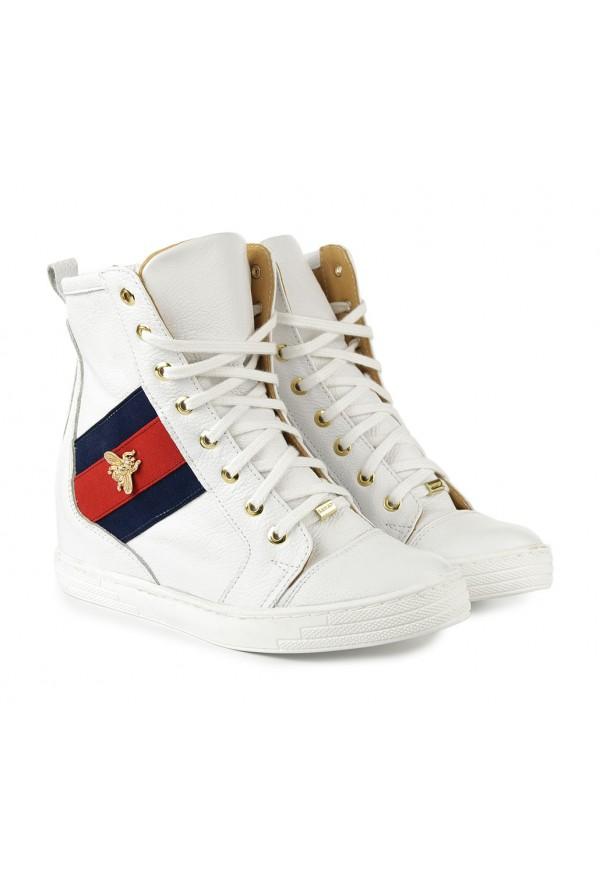 Białe sneakersy Tenisha