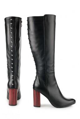 Czarne kozaki Rosamaria