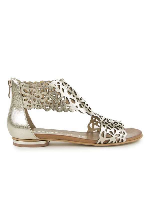 Złote sandały Nadine