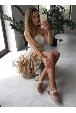 Bezowe sandały Enora