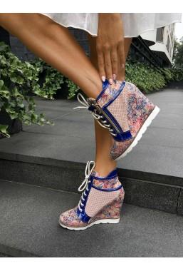Kwiatowe sneakersy Kerri
