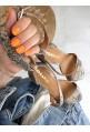 Wężowe sandały Virginia