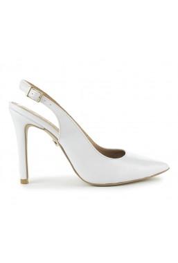 Białe szpilki Charlotte