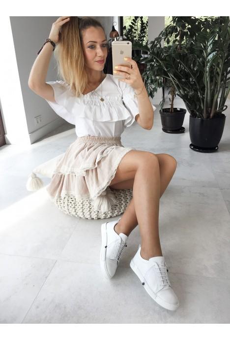 Białe trampki Celinia