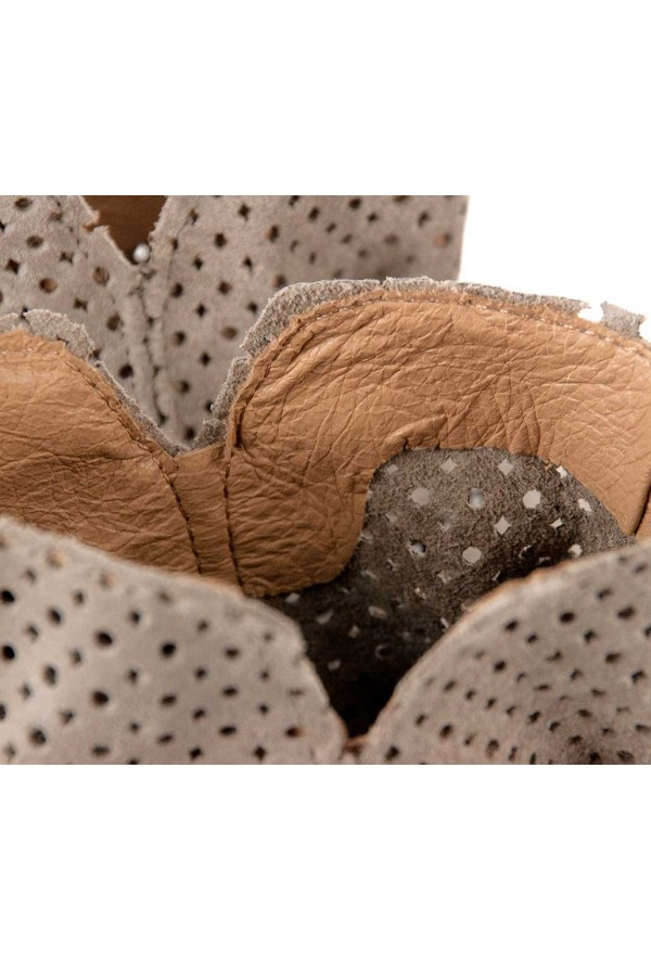 Zamszowe botki Leonora cappuccino