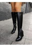 Czarne kozaki Victoria