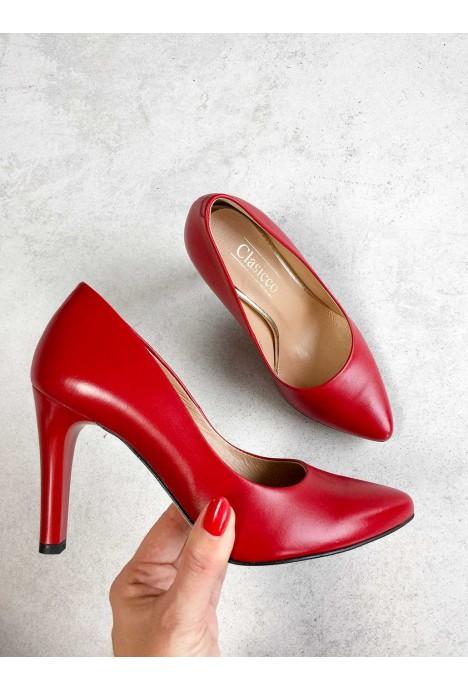 Czerwone szpilki Calanthe