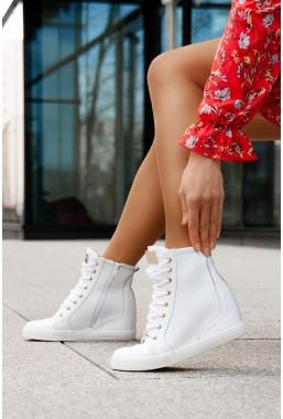 Białe sneakersy Sofia