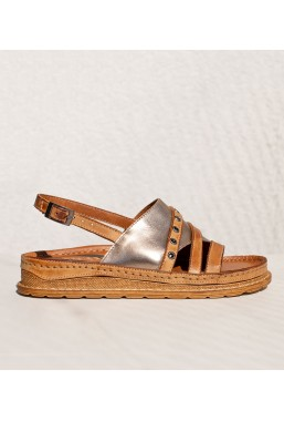 Brązowe sandały Simra