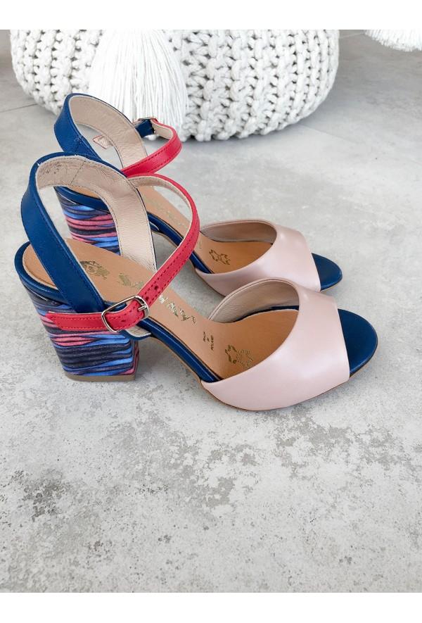 Multikolorowe sandały Domani