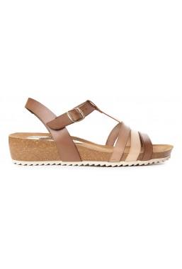 Brązowe sandały Jazmine