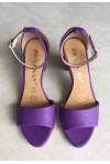 Fioletowe sandały Sholi