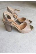 Beżowe sandały Mirel