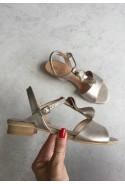 Platynowe sandały Marielita