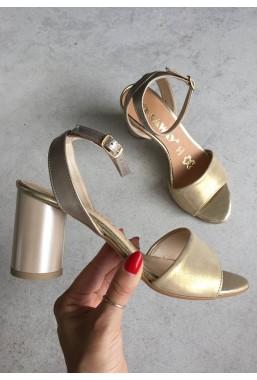 Złote sandały Ramalla