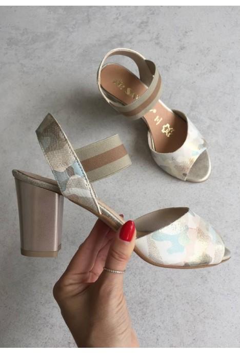 Sandały Eurella moro++