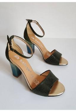Sandały Wellda verde