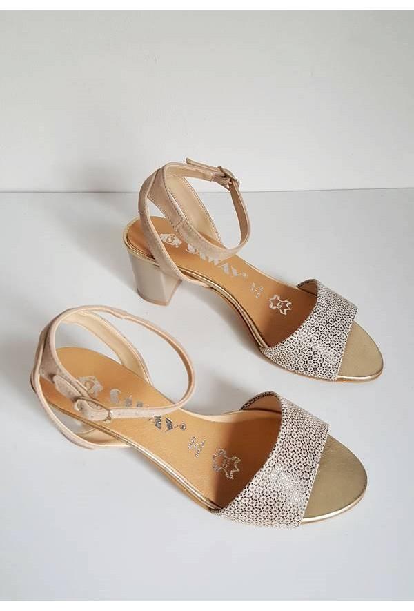 Beżowe sandały Girssa
