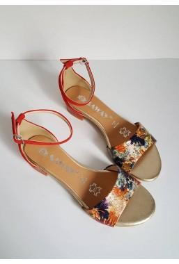Czerwone sandały Suza