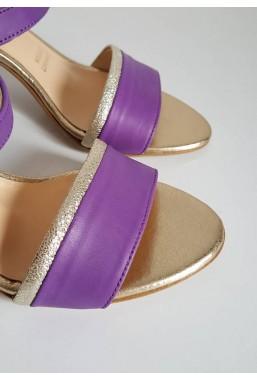 Fioletowe sandały Dolomi