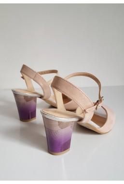 Pastelowe sandały Luigina