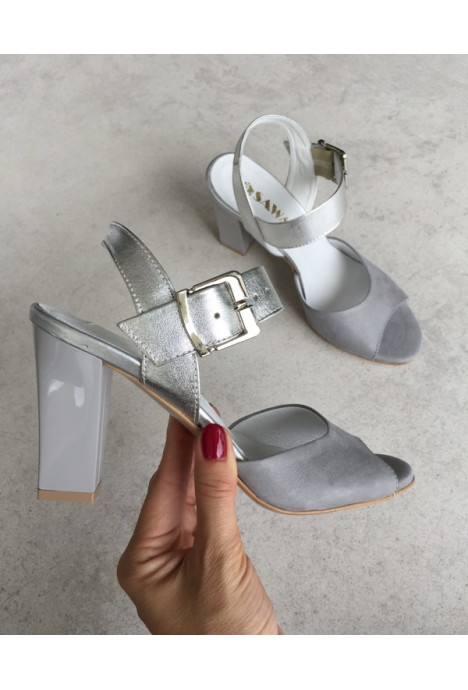 Szare sandały Malachi