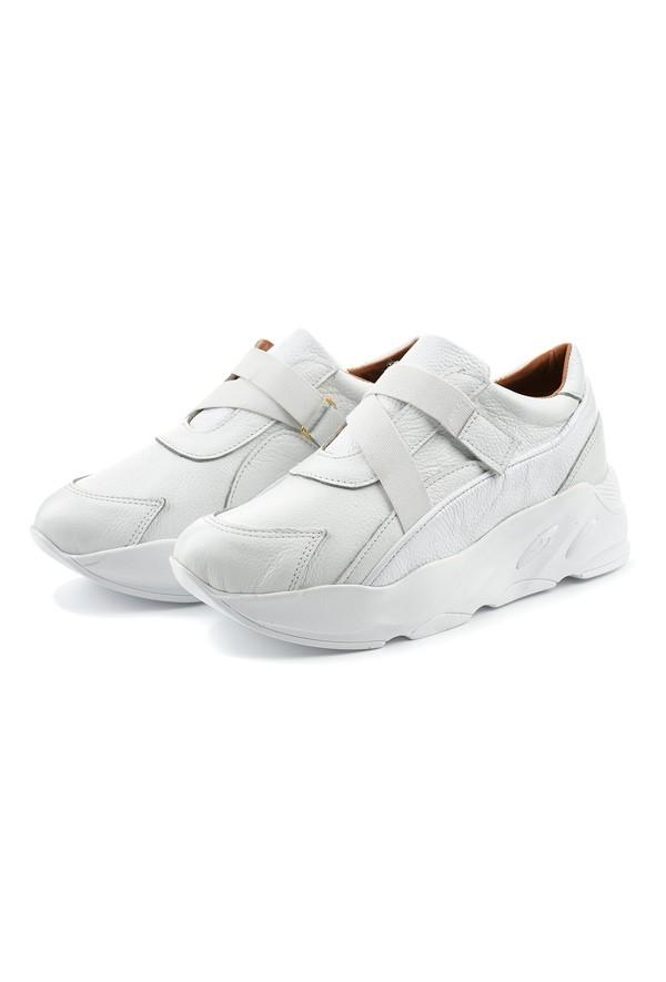 Białe sneakersy Unice