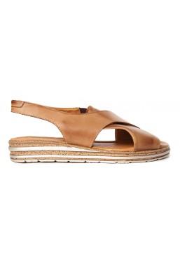 Brązowe sandały Evie
