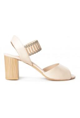 Beżowe sandały Bianca
