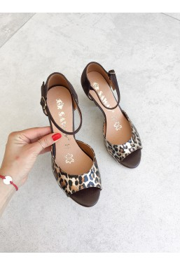 Sandały Dalida pantera