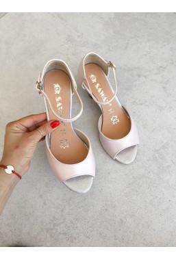 Sandały Dalida pudrowy róż