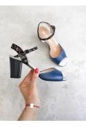 Granatowe sandały Glenda