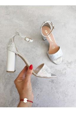 Srebrne sandały Missty2