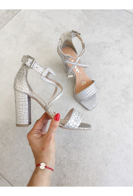 Beżowe sandały Nisha