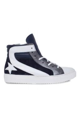 Granatowe sneakersy Laurel