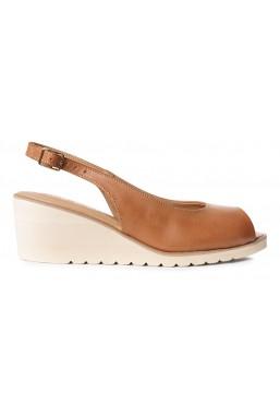 Brązowe sandały Harrell