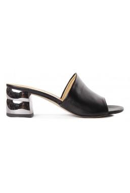 Czarne sandały Sayena