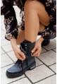 Czarne botki Jody - Zdjęcie nr 3
