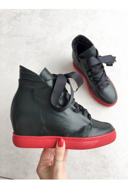 Zielone sneakersy Elisa