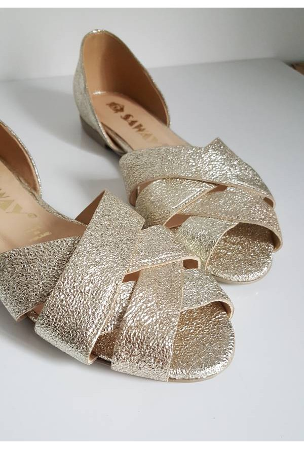 Złote baleriny Fabiola