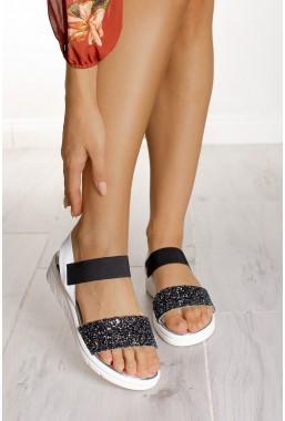 Białe sandały Clarke
