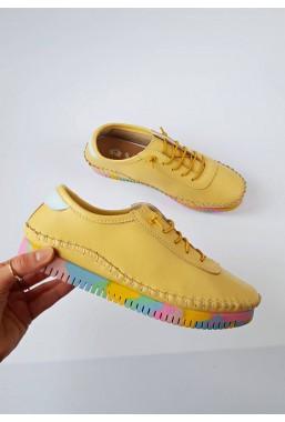 Żółte trampki Livia