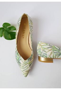 Baleriny Lisa verde