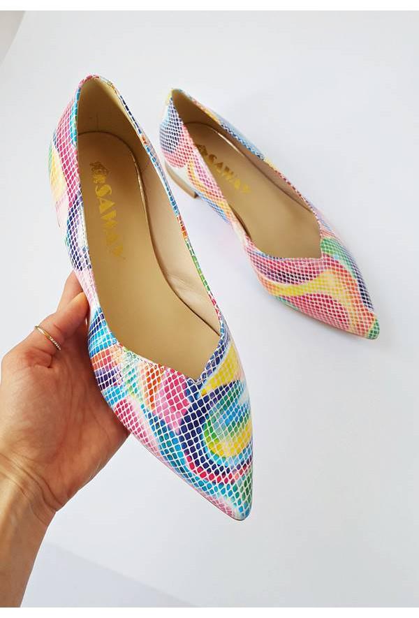 Baleriny Lisa arcobaleno