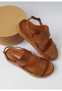 Brązowe sandały Kelsie