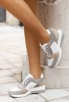 Szare sneakersy Aleena