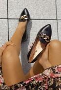 Czarne baleriny Alita