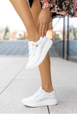 Białe sneakersy Merryn