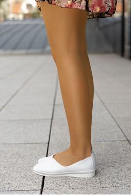 Białe baleriny Astrid
